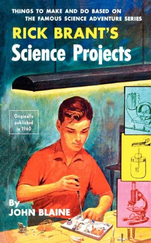 Large book cover: Rick Brant's Science Projects