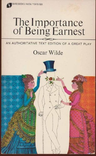 Large book cover: The Importance of Being Earnest