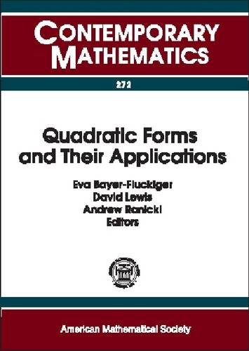 Large book cover: Quadratic Forms and Their Applications