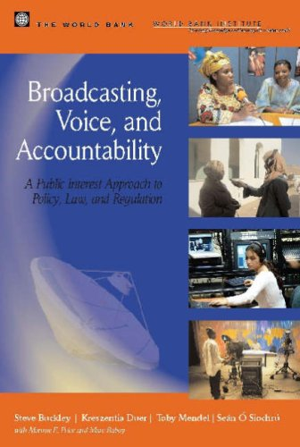 Large book cover: Broadcasting, Voice, and Accountability