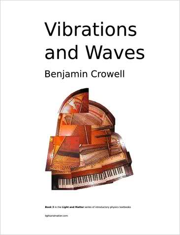 Large book cover: Vibrations and Waves
