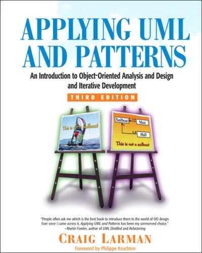 Large book cover: Applying UML and Patterns: An Introduction to Object-Oriented Analysis and Design