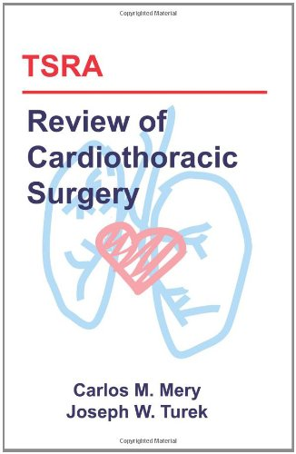Large book cover: TSRA Review of Cardiothoracic Surgery