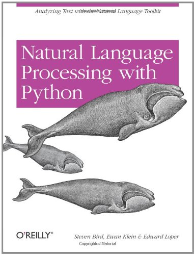 Large book cover: Natural Language Processing with Python