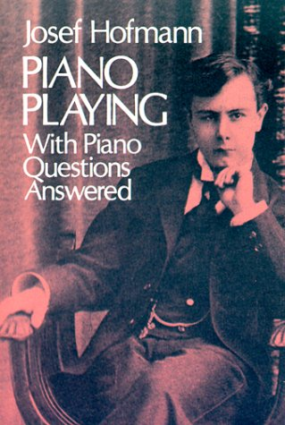 Large book cover: Piano Playing: With Piano Questions Answered
