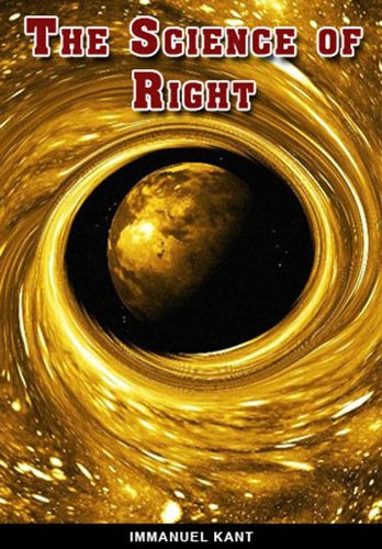 Large book cover: The Science of Right
