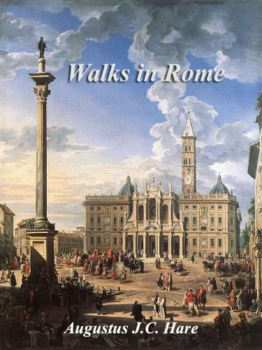 Large book cover: Walks in Rome