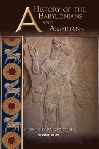 Large book cover: A History of the Babylonians and Assyrians