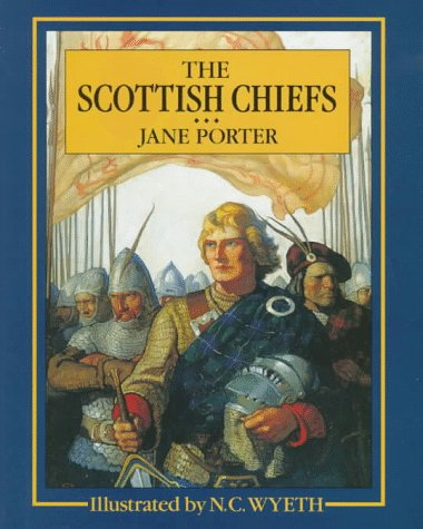 Large book cover: The Scottish Chiefs