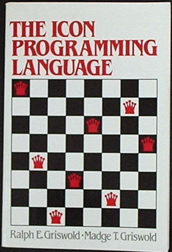Large book cover: The Icon Programming Language