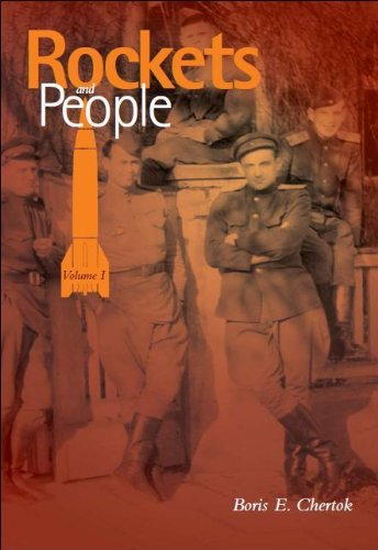 Large book cover: Rockets and People, Volume 1