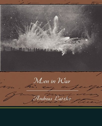 Large book cover: Men in War