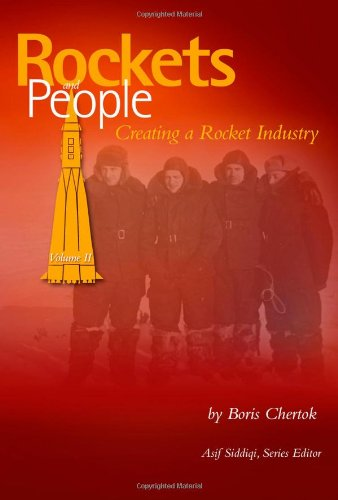 Large book cover: Rockets and People, Volume 2: Creating a Rocket Industry
