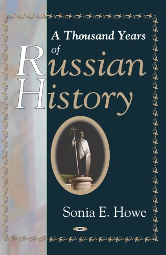 Large book cover: A Thousand Years of Russian History