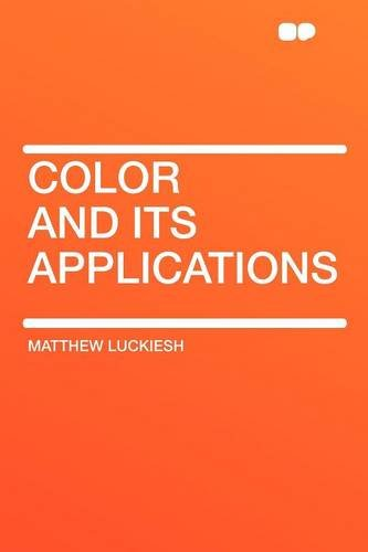 Large book cover: Color and Its Applications