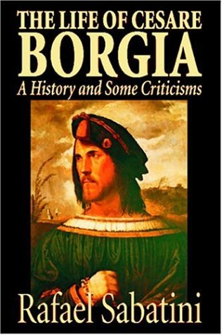 Large book cover: The life of Cesare Borgia