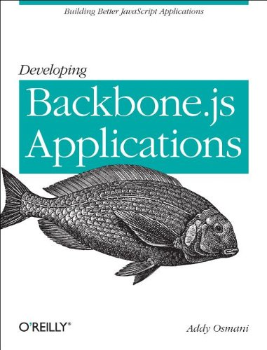 Large book cover: Developing Backbone.js Applications