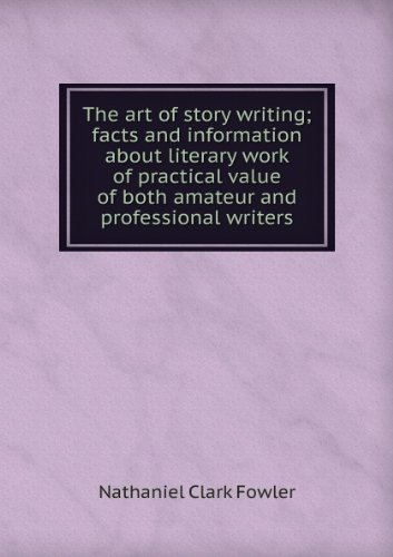 Large book cover: The Art of Story Writing