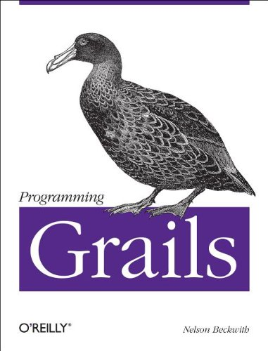 Large book cover: Programming Grails