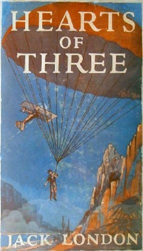 Large book cover: Hearts of Three