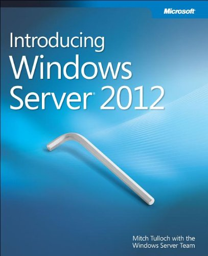 Large book cover: Introducing Windows Server 2012