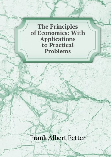 Large book cover: The Principles of Economics