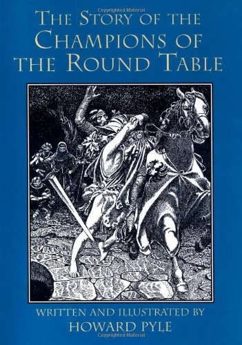 Large book cover: The Story of the Champions of the Round Table