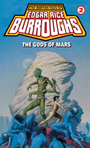 Large book cover: The Gods of Mars
