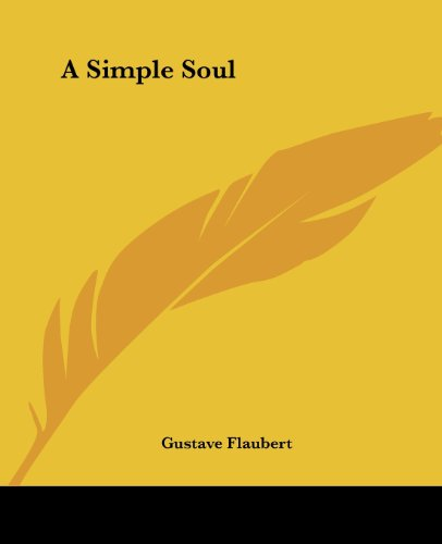 Large book cover: A Simple Soul