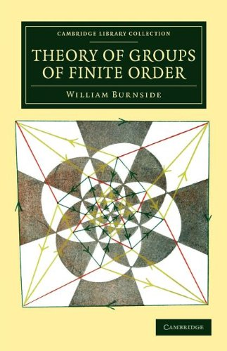 Large book cover: Theory of Groups of Finite Order