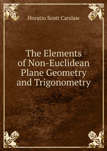 Large book cover: The Elements of Non-Euclidean Plane Geometry and Trigonometry