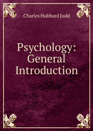 Large book cover: Psychology: General Introduction
