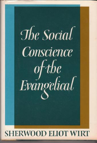 Large book cover: The Social Conscience of the Evangelical