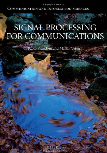Large book cover: Signal Processing for Communications