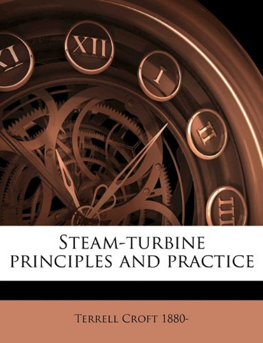 Large book cover: Steam-turbine Principles and Practice