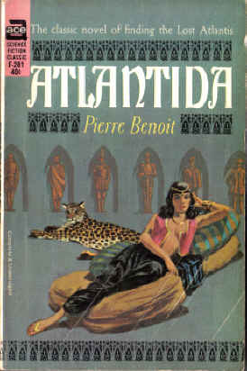 Large book cover: Atlantida