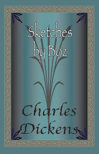 Large book cover: Sketches by Boz