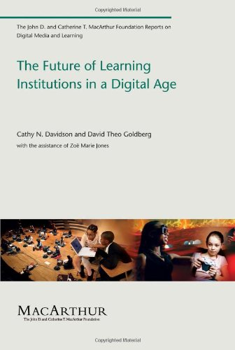 Large book cover: The Future of Learning Institutions in a Digital Age