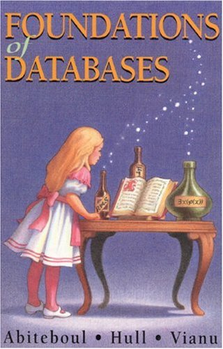 Large book cover: Foundations of Databases