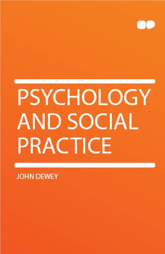 Large book cover: Psychology and Social Practice
