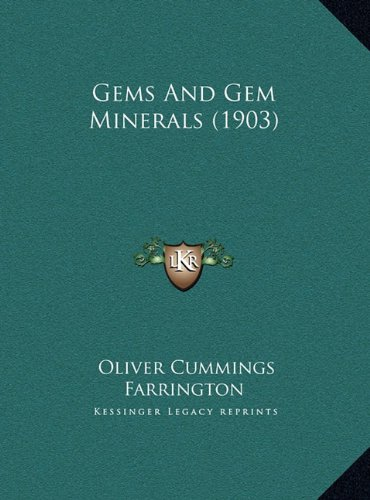 Large book cover: Gems and Gem Minerals
