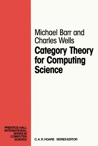Large book cover: Category Theory for Computing Science