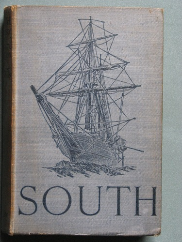 Large book cover: South: the story of Shackleton's last expedition