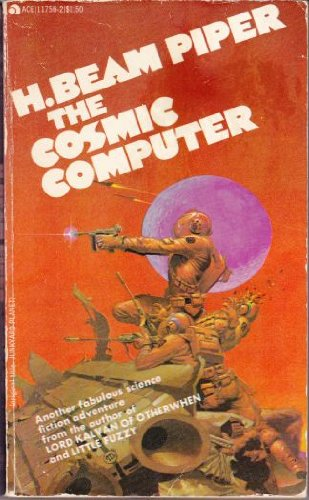 Large book cover: The Cosmic Computer