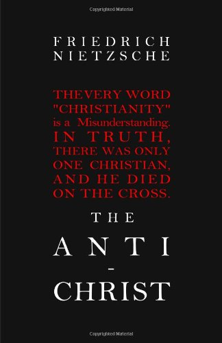 Large book cover: The Antichrist