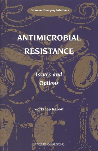 Large book cover: Antimicrobial Resistance: Issues and Options
