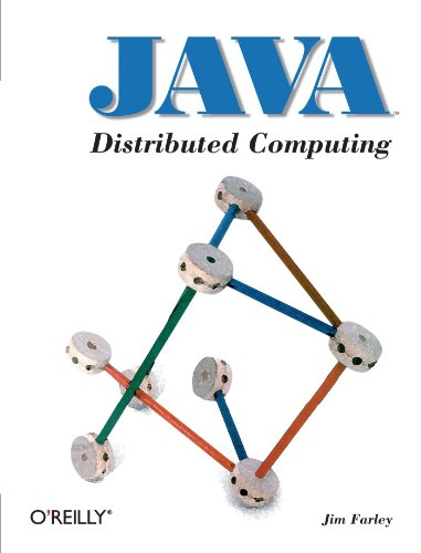 Large book cover: Java Distributed Computing