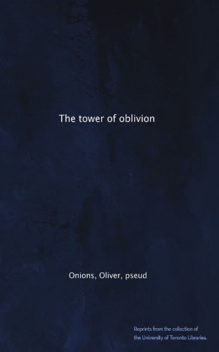 Large book cover: The Tower of Oblivion