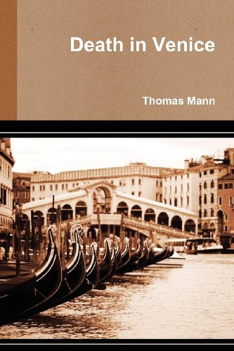 Large book cover: Death in Venice