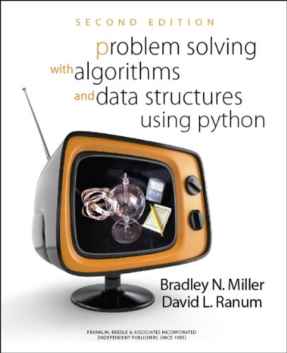 Large book cover: Problem Solving with Algorithms and Data Structures Using Python